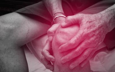 Fysiotherapie bij een knie die op slot zit